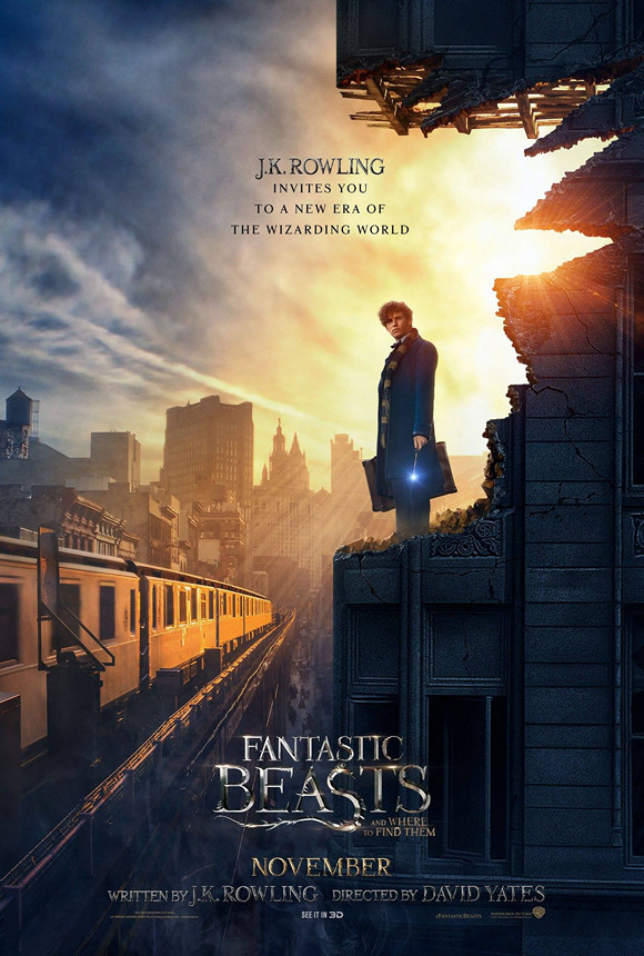 怪獸與牠們的產地‬ (2D版)(Fantastic Beasts and Where to Find Them)電影圖片 - poster_1473730630.jpg