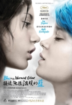 接近無限溫暖的藍 (Blue Is the Warmest Color)電影海報