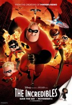超人特工隊 (英語版) (The Incredibles)電影海報