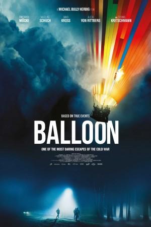 翻牆熱氣球電影海報