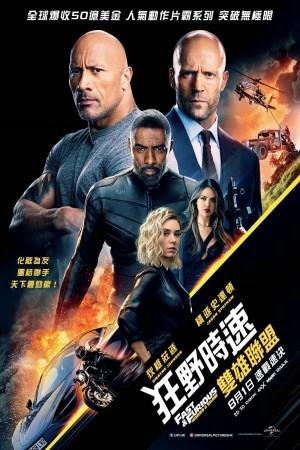 狂野時速:雙雄聯盟電影海報